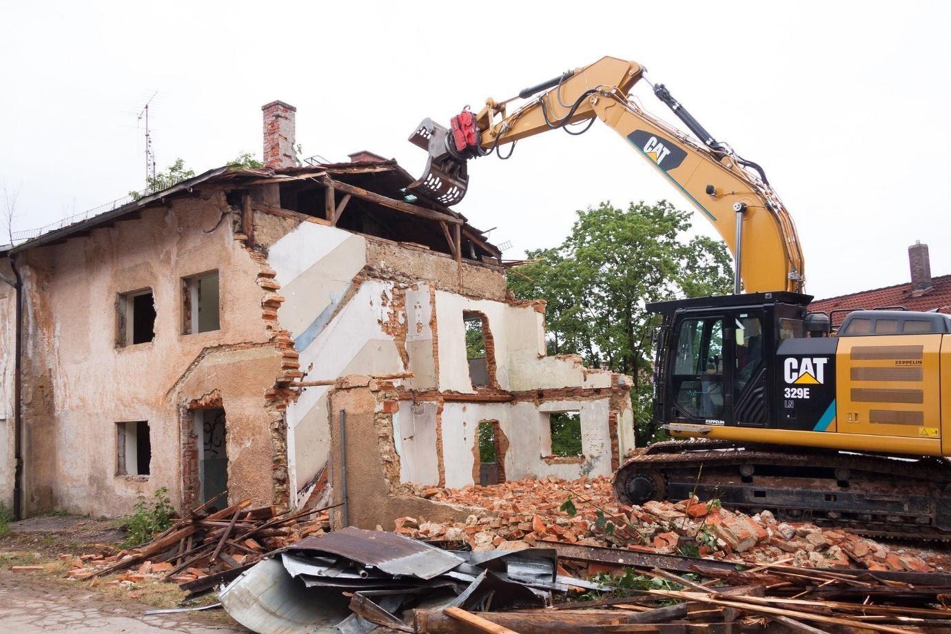 Travaux de démolition: ce qu'il y a à savoir